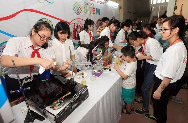 Giáo dục STEAM đối với trẻ