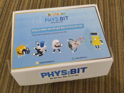 Học điện tử đơn giản cho trẻ với Phys:Bit photo review