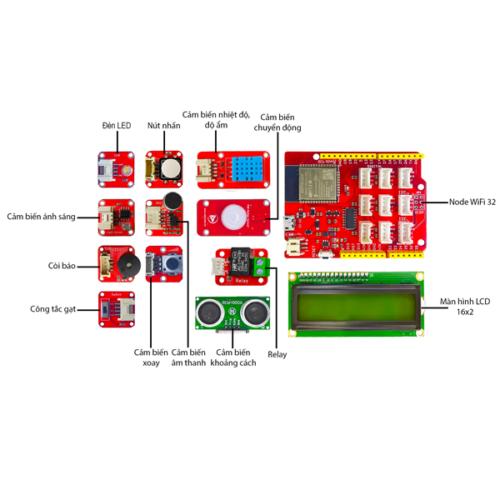 kit học Arduino đơn giản - kèm tài liệu chi tiết từ A đến Z