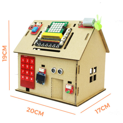 Kích cỡ ngôi nhà đồ chơi Home:Bit
