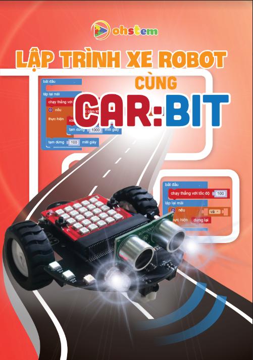 Lập trình robot cùng xe đồ chơi Car:Bit