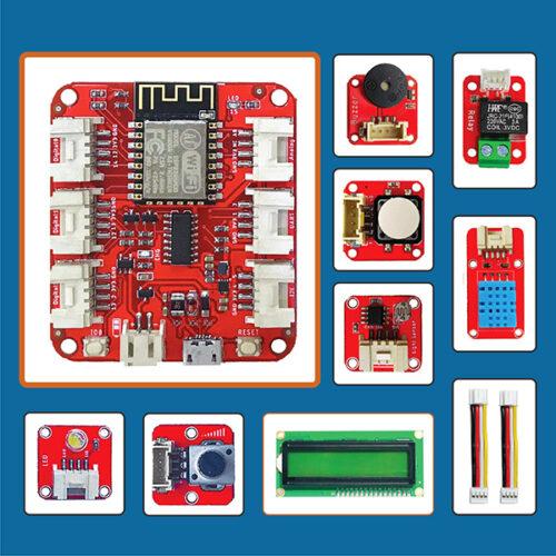 Các module của thiết bị học lập trình Arduino Easy Kit