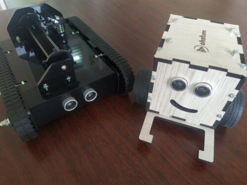 Xe tăng chiến đấu TankBot photo review