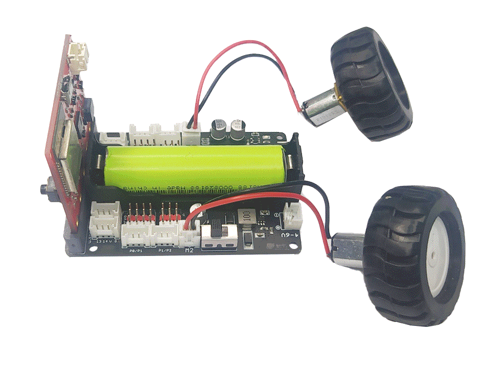 Kết nối robot shield với động cơ DC