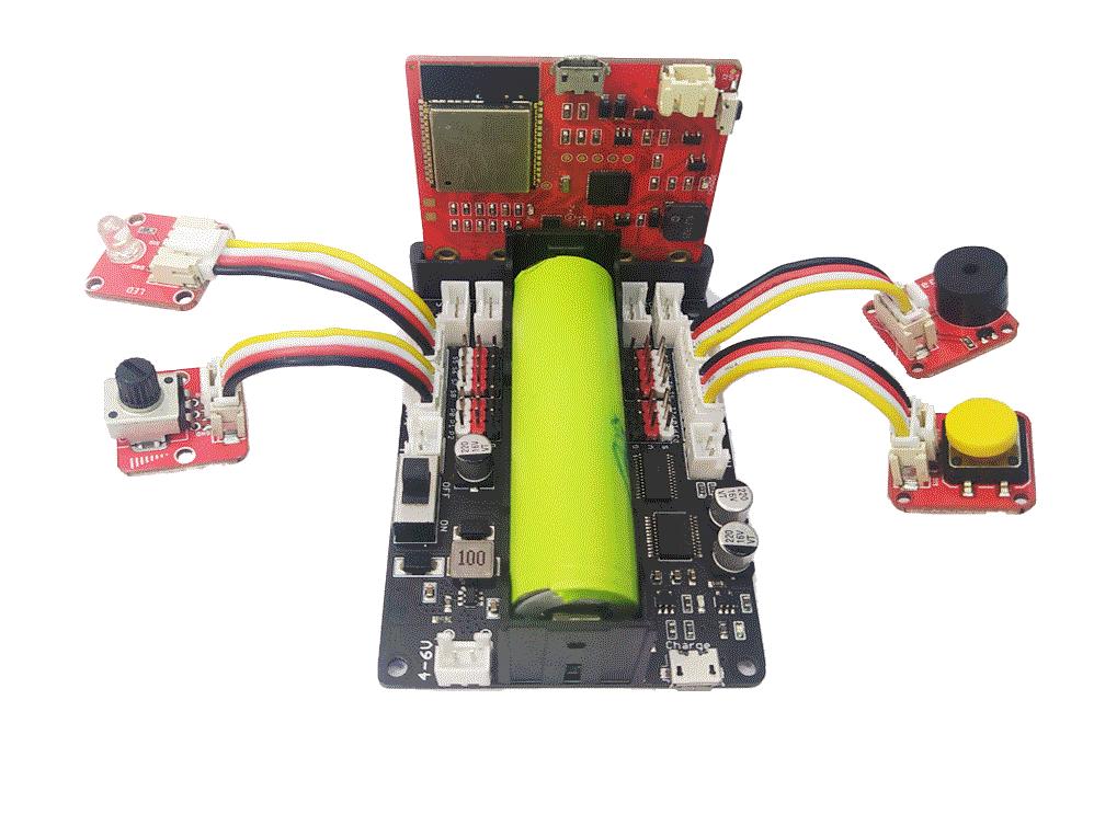 kết nối robot shield với các module