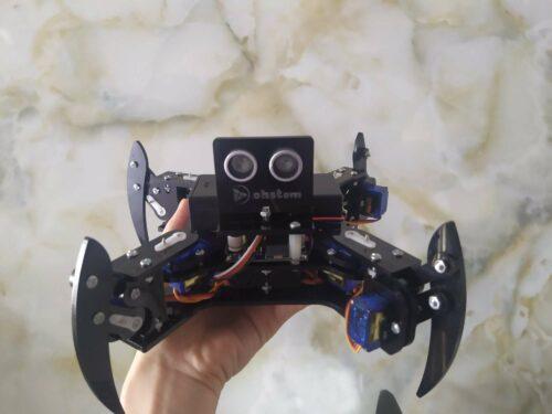 Robot nhện SpiderBot 4 chân thông minh photo review