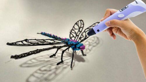Bút vẽ 3D thần tháng - thỏa sức sáng tạo