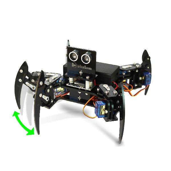 """Robot nhện thông minh thực hiện """"vẫy tay chào"""""""