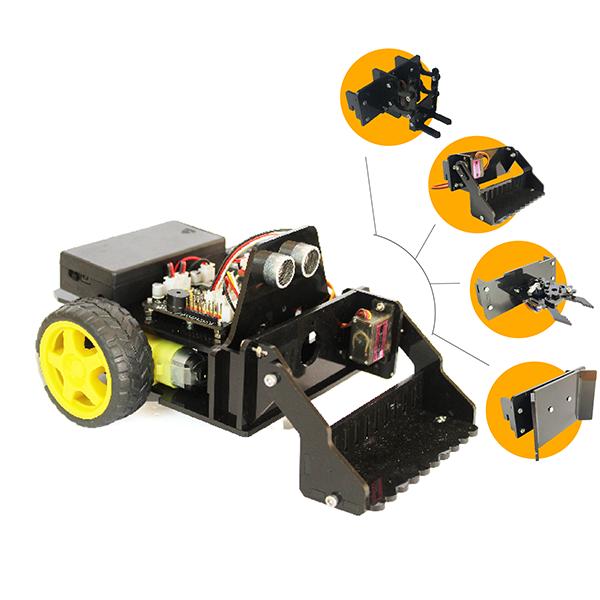 4 đầu chức năng của TransformBot