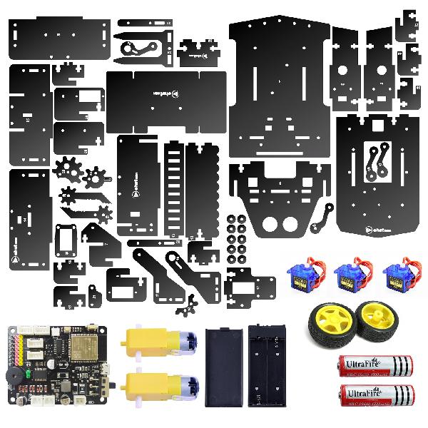 Các bộ phận trong robot đồ chơi TransformBot