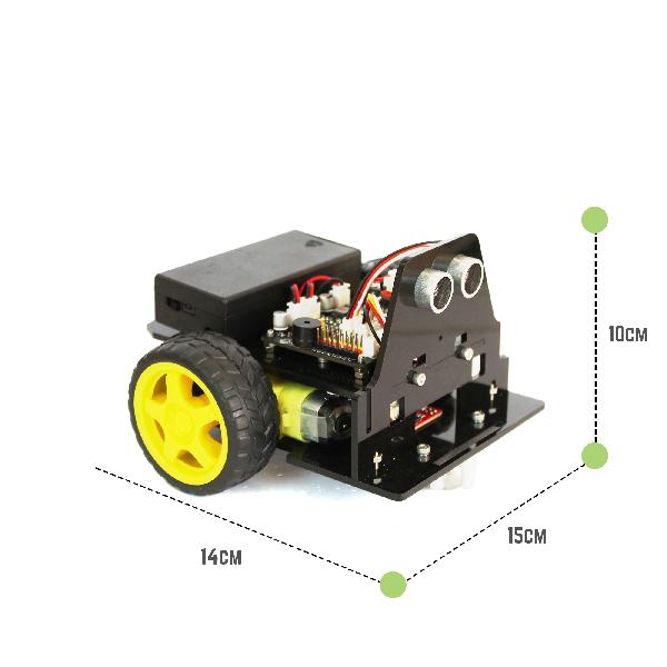 Kích thước xe robot biến hình