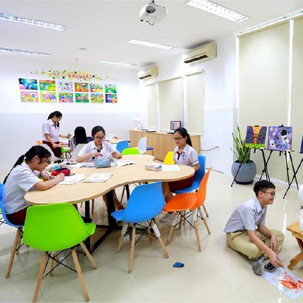 Kết hợp phòng Lab tại trường học