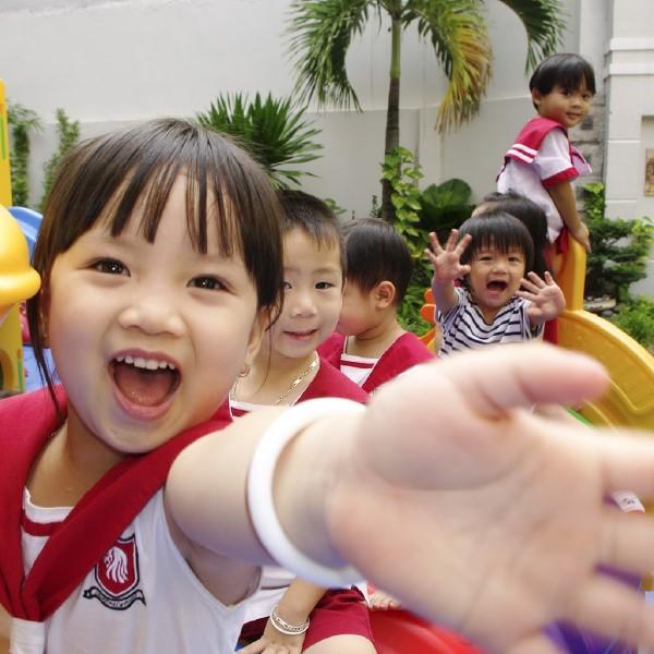 Trẻ em rất thích chơi đùa và sáng tạo