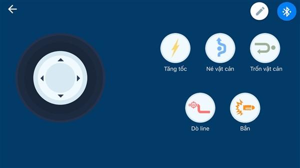Bluetooth di chuyển thành màu xe