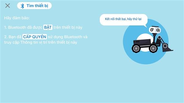 Màn hình bluetooth bị lỗi