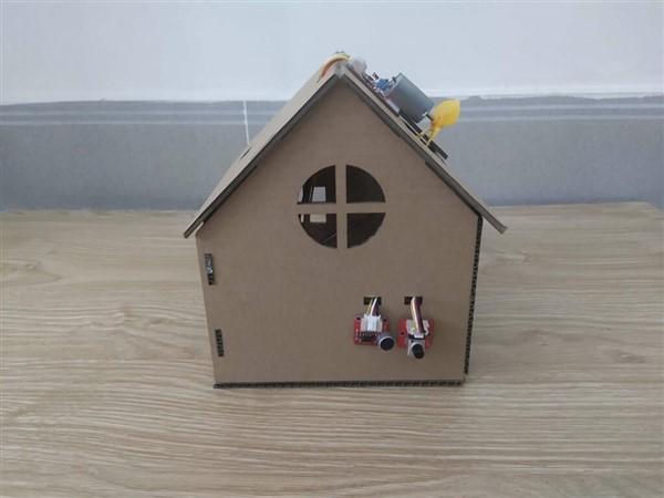 Hướng dẫn làm ngôi nhà thông minh Home:Bit mặt ngang