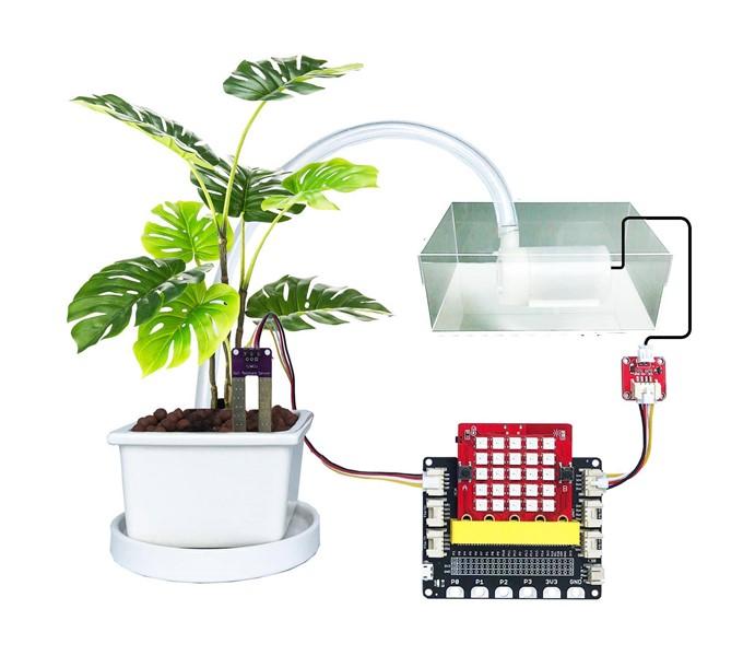 Hoàn thành mô hình chăm sóc vườn cây