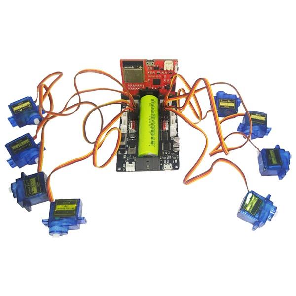 8 khe cắm Servo trên đồ chơi hỗ trợ học Robot Shield