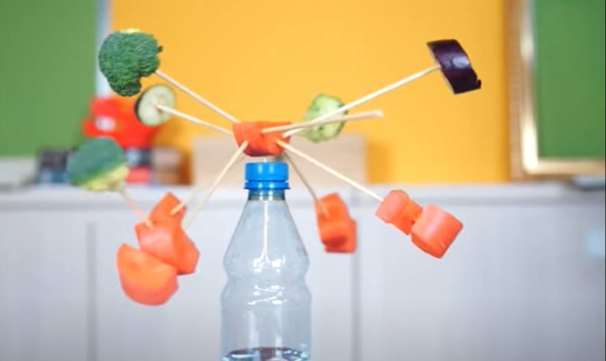 Thí nghiệm chế tạo bình giữ thăng bằng