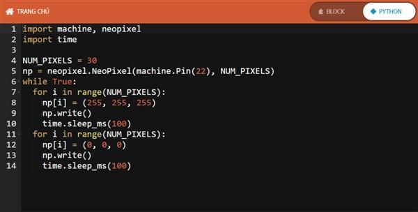 Mã lập trình