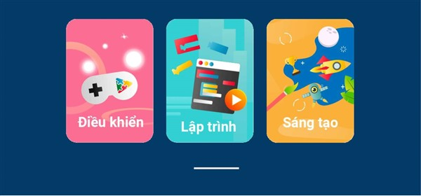 màn hình app Ohstem