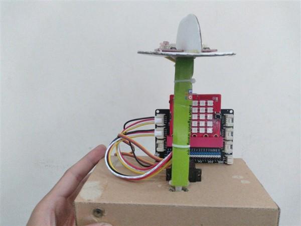 Gắn module cảm biến