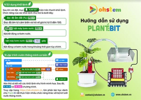 Tài liệu hướng dẫn sử dụng đồ chơi trí tuệ Plant:Bit