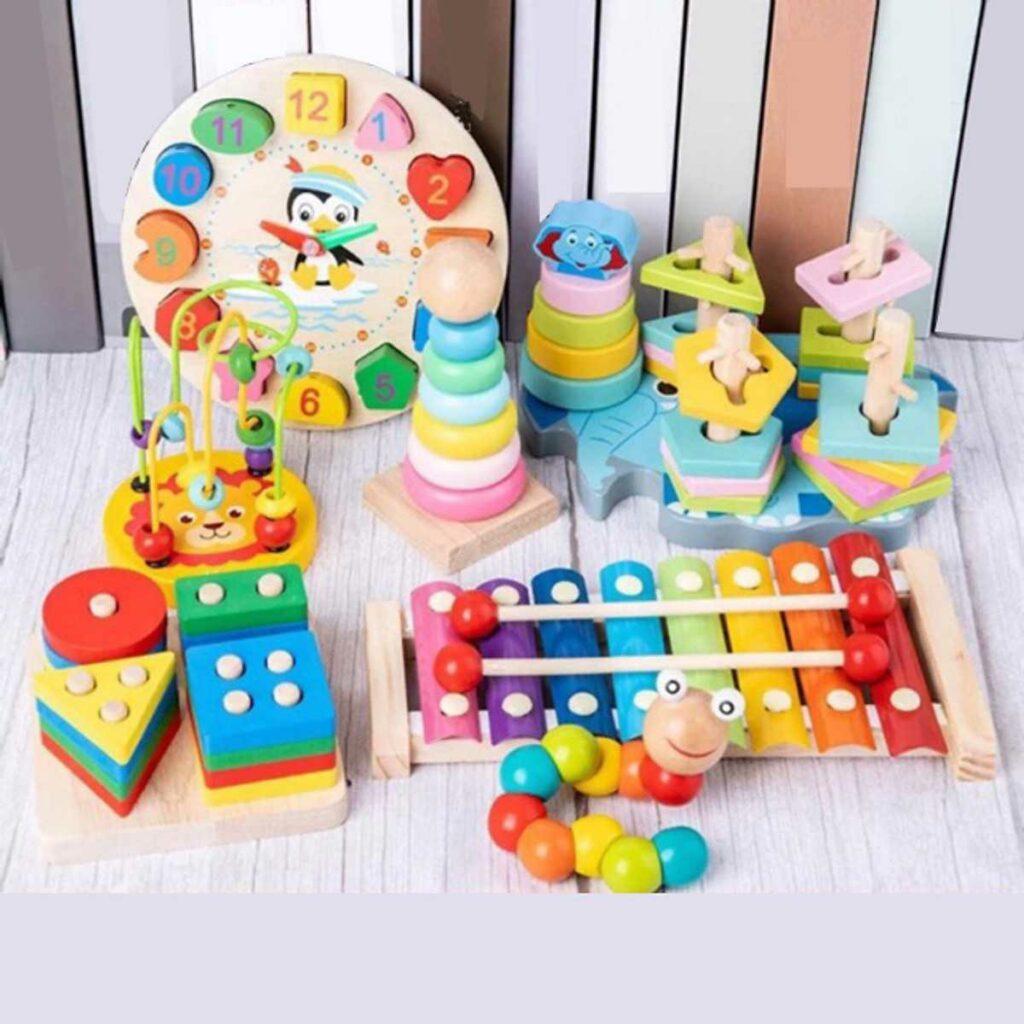 Đồ chơi sáng tạo có lợi ích rất lớn với trẻ
