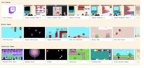 Nhiều game mẫu để giải trí