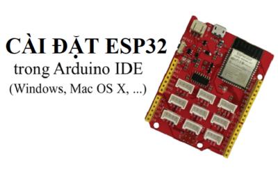 Cài đặt ESP32 Arduino