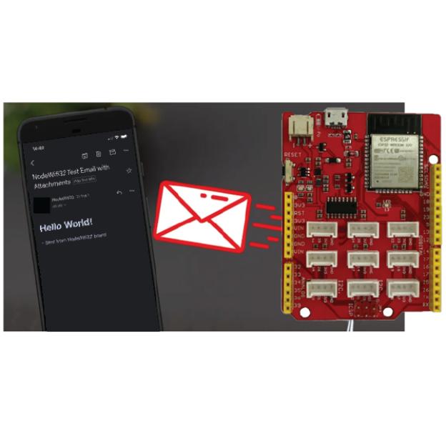 ESP32 Gửi Mail Bằng Máy Chủ SMTP