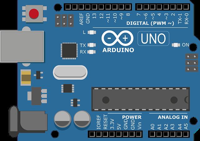Board mạch arduino để giao tiếp i2c
