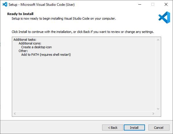 Nhấn vào Install