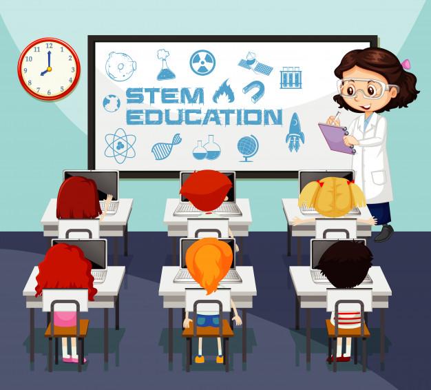 Lớp học sử dụng phương pháp giáo dục STEM