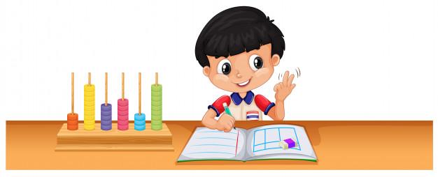 Bé học hỏi bằng giác quan dựa trên Montessoria