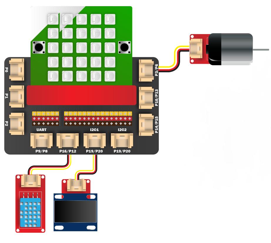Kết nối module quạt thông minh