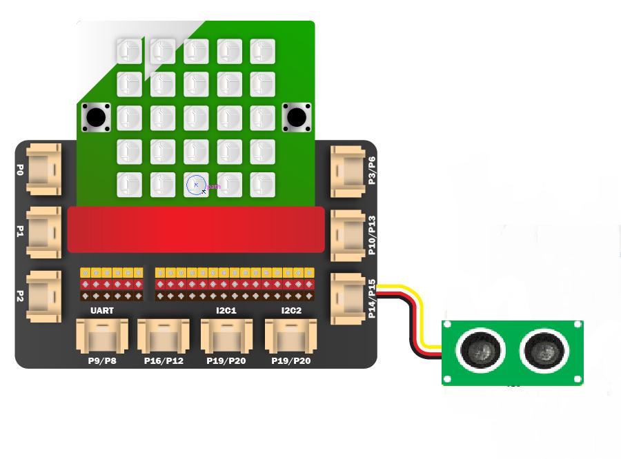 Kết nối module cảm biến siêu âm