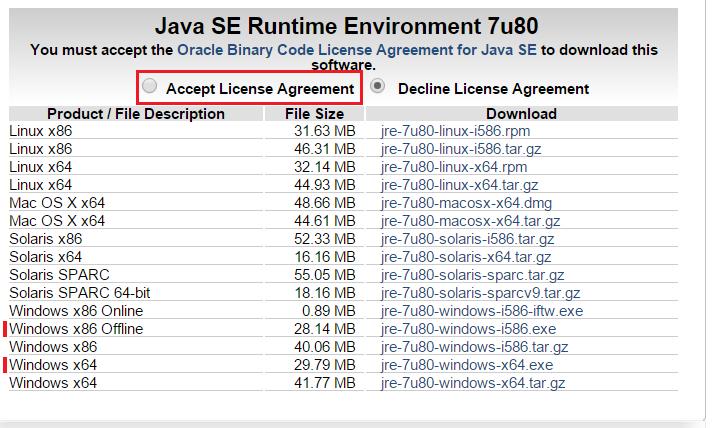 Cài đặt Jave Runtime Enviroment (JRE)