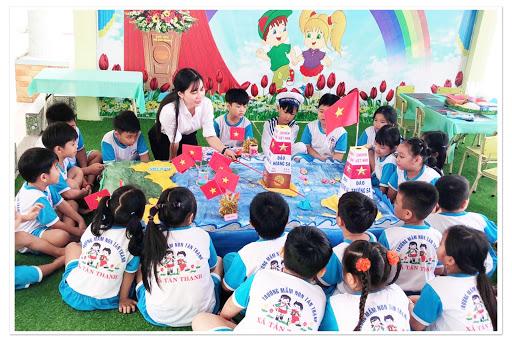 Phương pháp thực hành giáo dục trẻ mầm non đơn giản