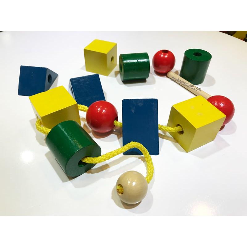Cách làm đồ dùng Montessori