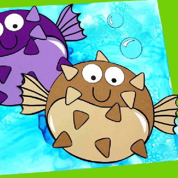 Hoạt động STEAM vẽ tranh đại dương từ muối