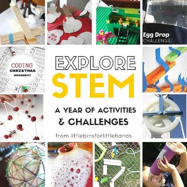 Các hoạt đông, thí nghiệm đơn giản trong giáo án STEM (Mẫu, có hướng dẫn chi tiết)