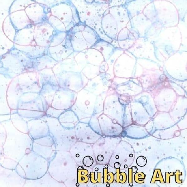 Hướng dẫn chi tiết hoạt động STEAM vẽ tranh bong bóng nghệ thuật