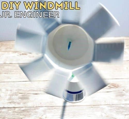 STEM thí nghiệm cối xay gió cho trẻ em