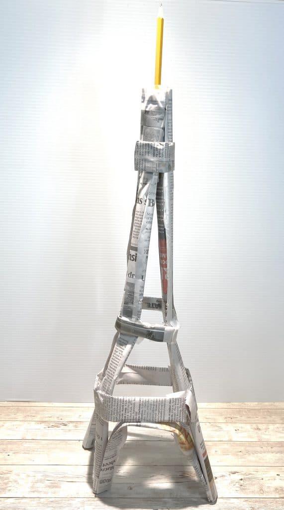 Cách làm tháp Eiffel bằng giấy đơn giản