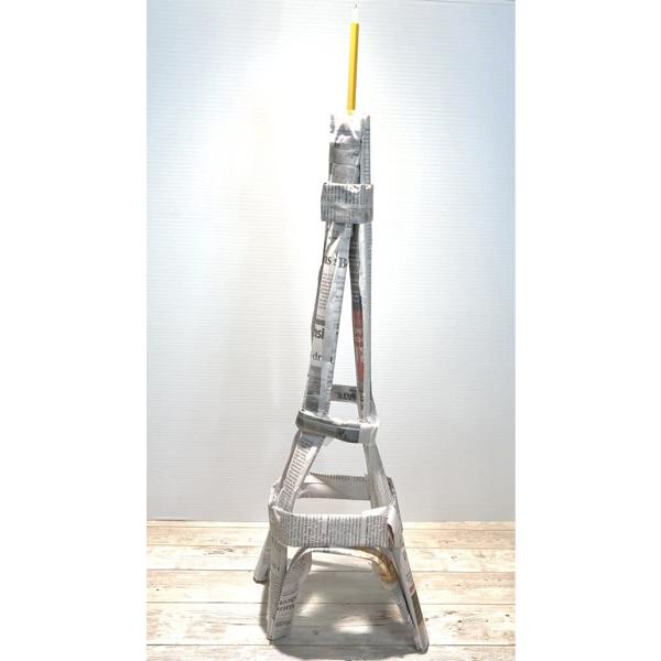 Ứng dụng dạy học STEM cách làm tháp Eiffel bằng giấy