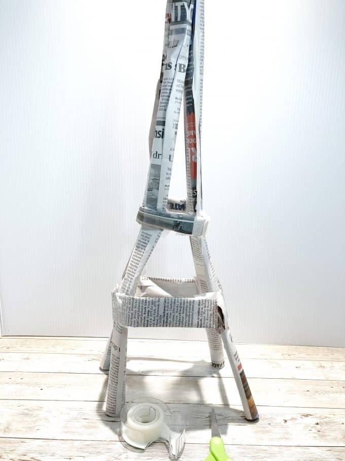 Dạy học STEM - Cách làm tháp Eiffel bằng giấy đơn giản