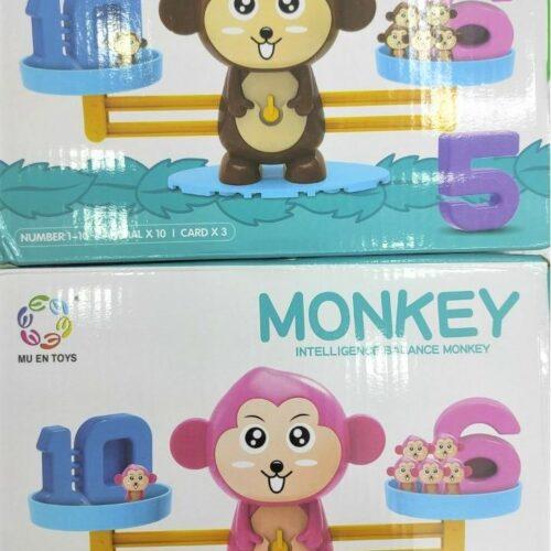 Đồ chơi cân bằng học toán giáo cụ Montessori cho bé