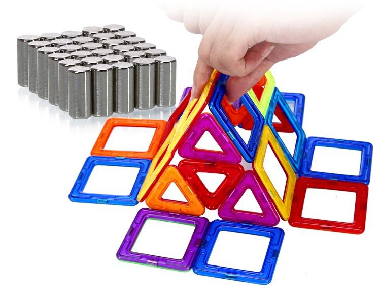 Ý tưởng sáng tạo với đồ chơi ghép hình khối có nam châm