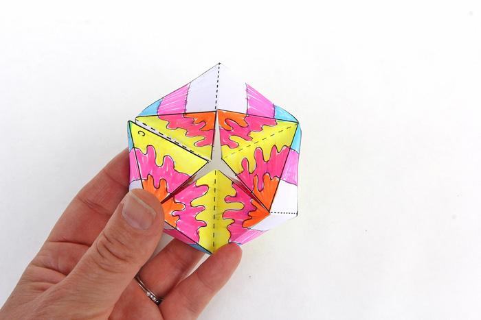Hoàn thành dự án gấp giấy Flextangle STEM của bạn